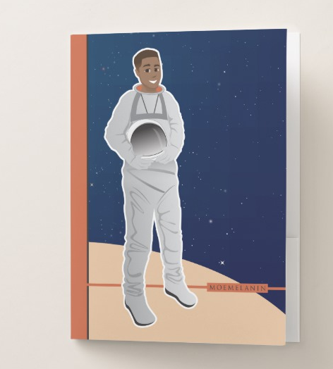 Astronaut Pocket Folder