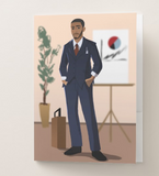 Businessman Pocket Folder