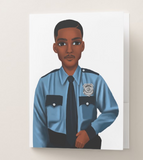 Policeman Pocket Folder
