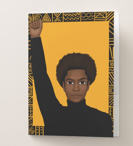 Unapologetically Black - Male Pocket Folder