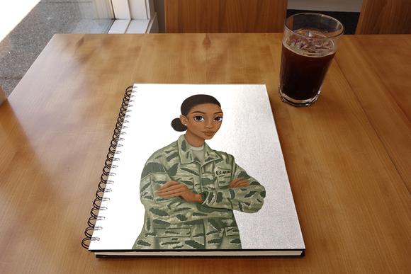 Air Force (Female) Notebook