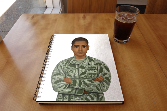 Air Force (Male) Notebook