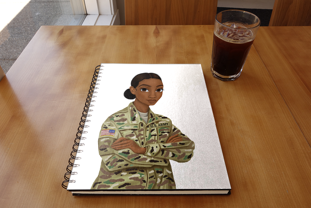 Army Female Sketchbook
