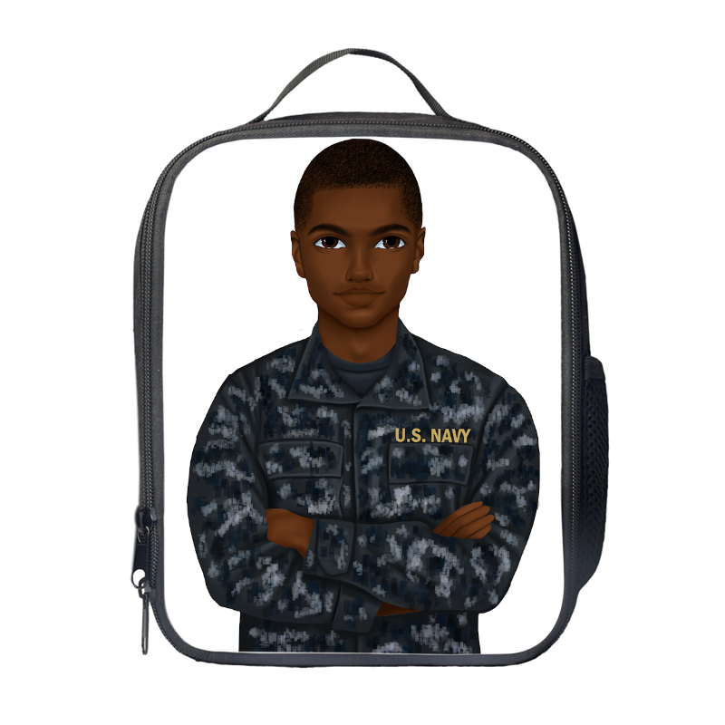 Navy (Male) Lunch Bag