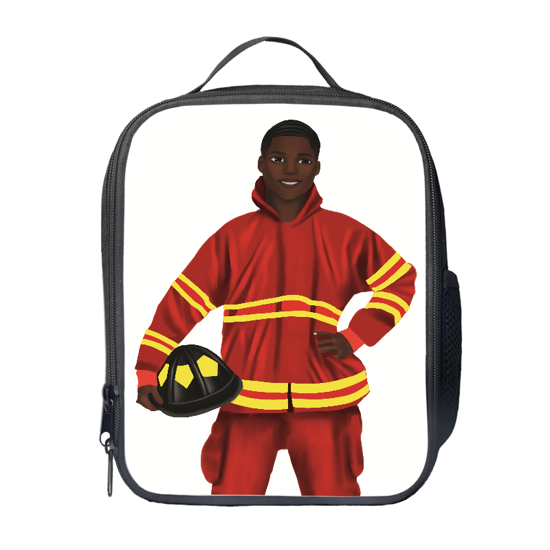 Fireman Lunch Bag