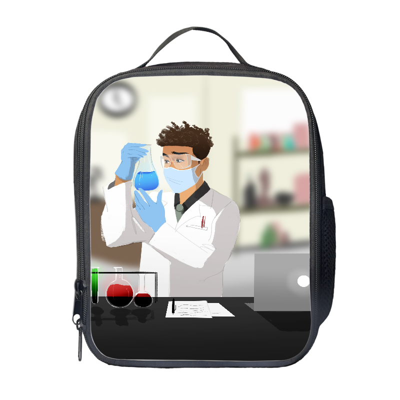 Scientist (Male) Lunch Bag