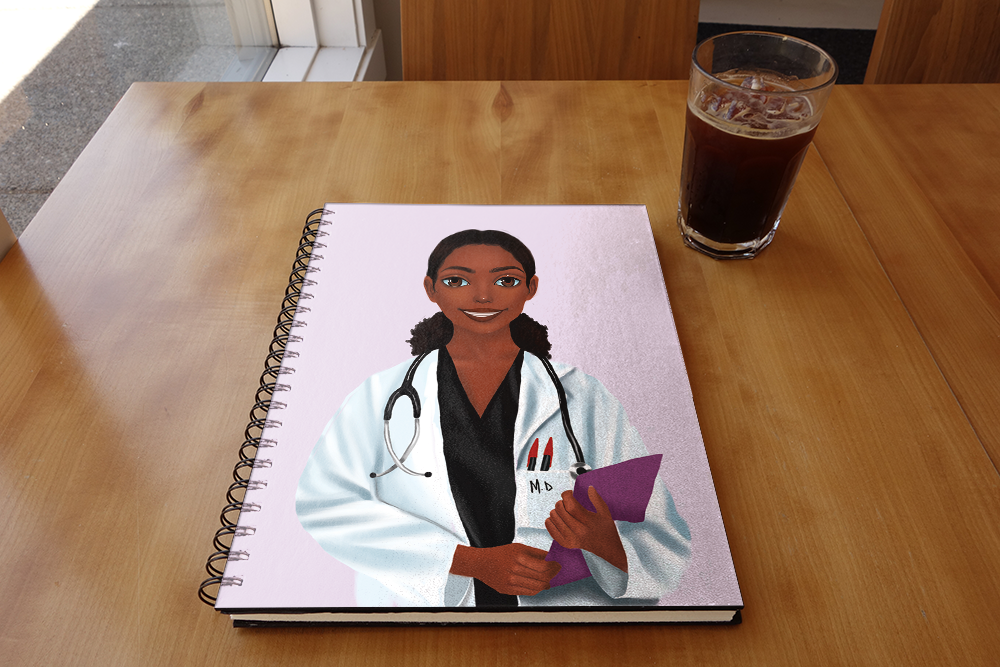 Doctor Female Notebook