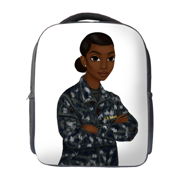 Navy Female Backpack