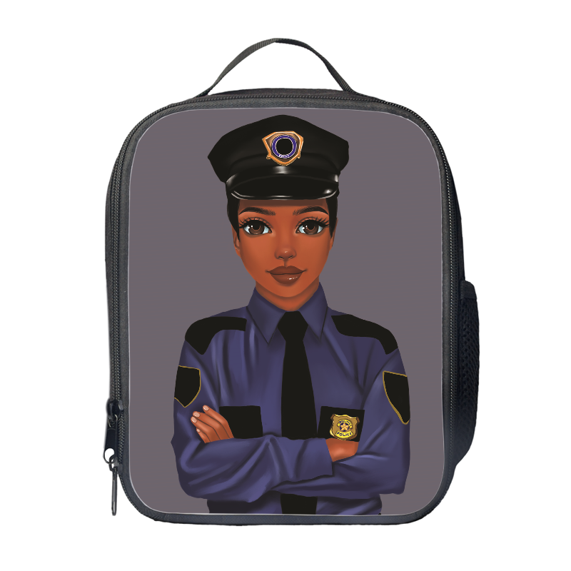 Policewoman Lunch Bag