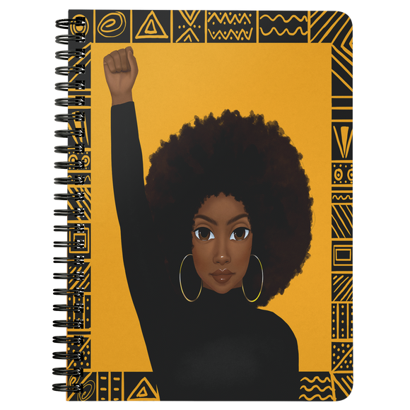 Unapologetically Black Woman Mini Notebook