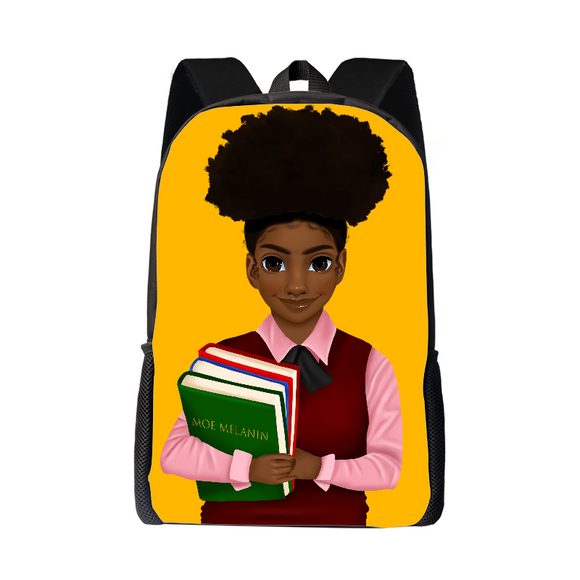 Melanated Excellence Backpack - Girl