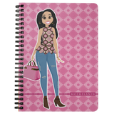 Phenomenal In Pink Mini Notebook