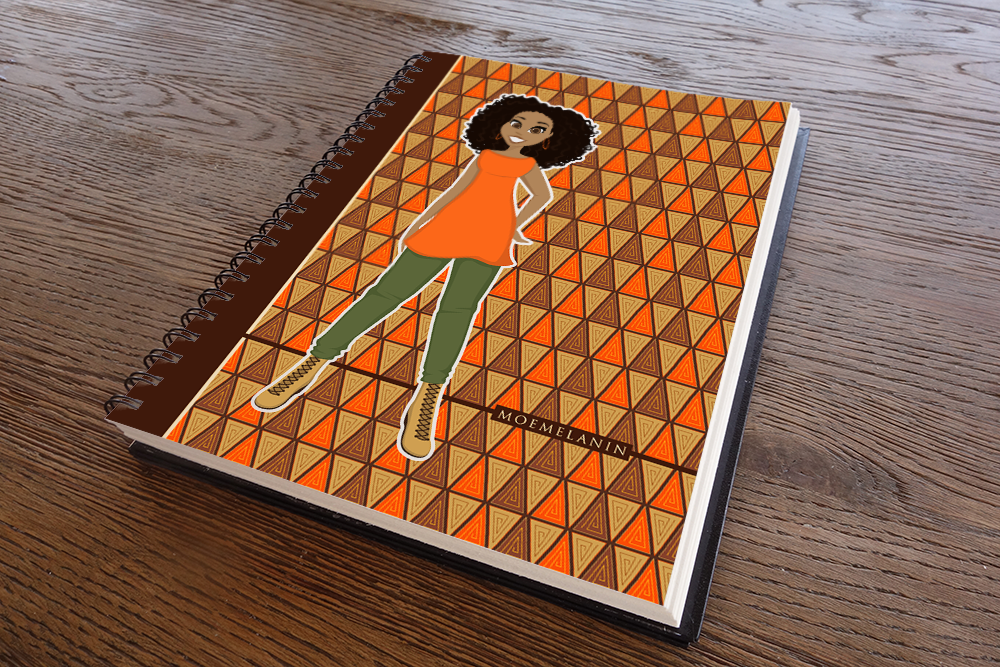Outstanding In Orange Notebook