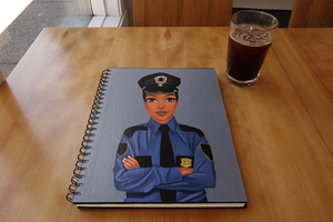 Policewoman Notebook