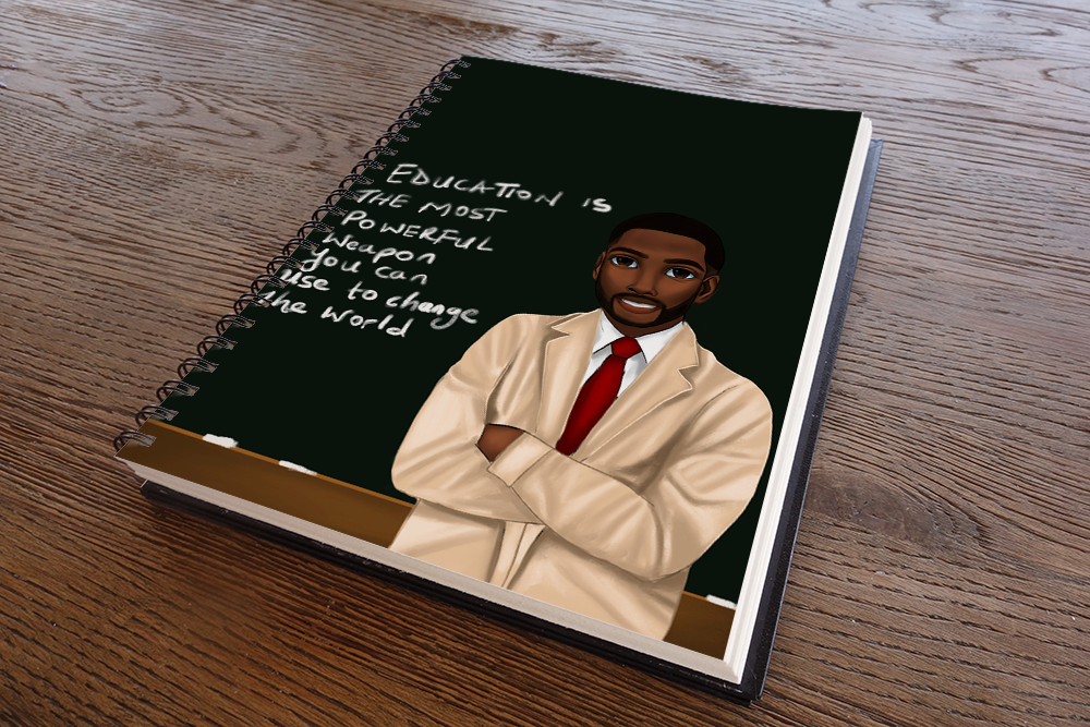Teacher Male Notebook