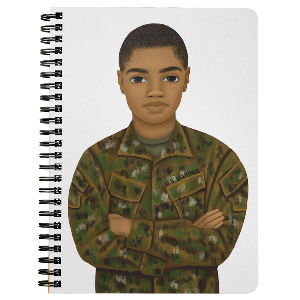Marine Male Mini Notebook