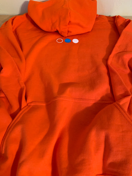rhetorik Orange Sweatshirt Hoodie