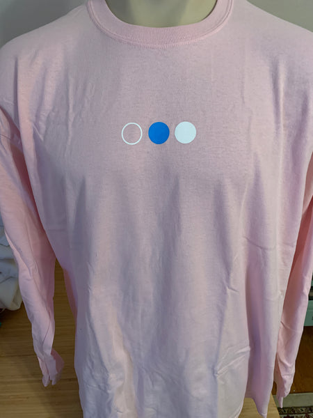 RHETORIK Pink Long Sleeve Tee