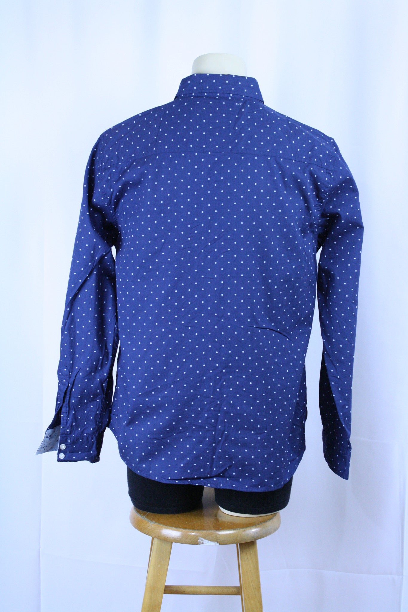 Polka Dot Button Down (L)