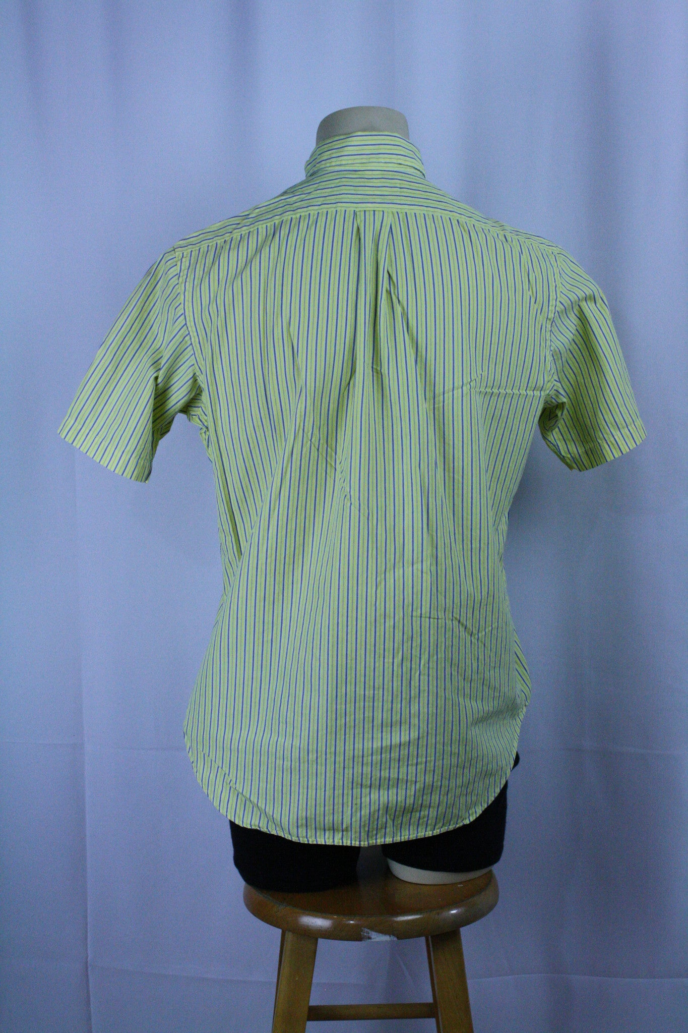 *Early 2000s* Polo Striped Button Up (M)