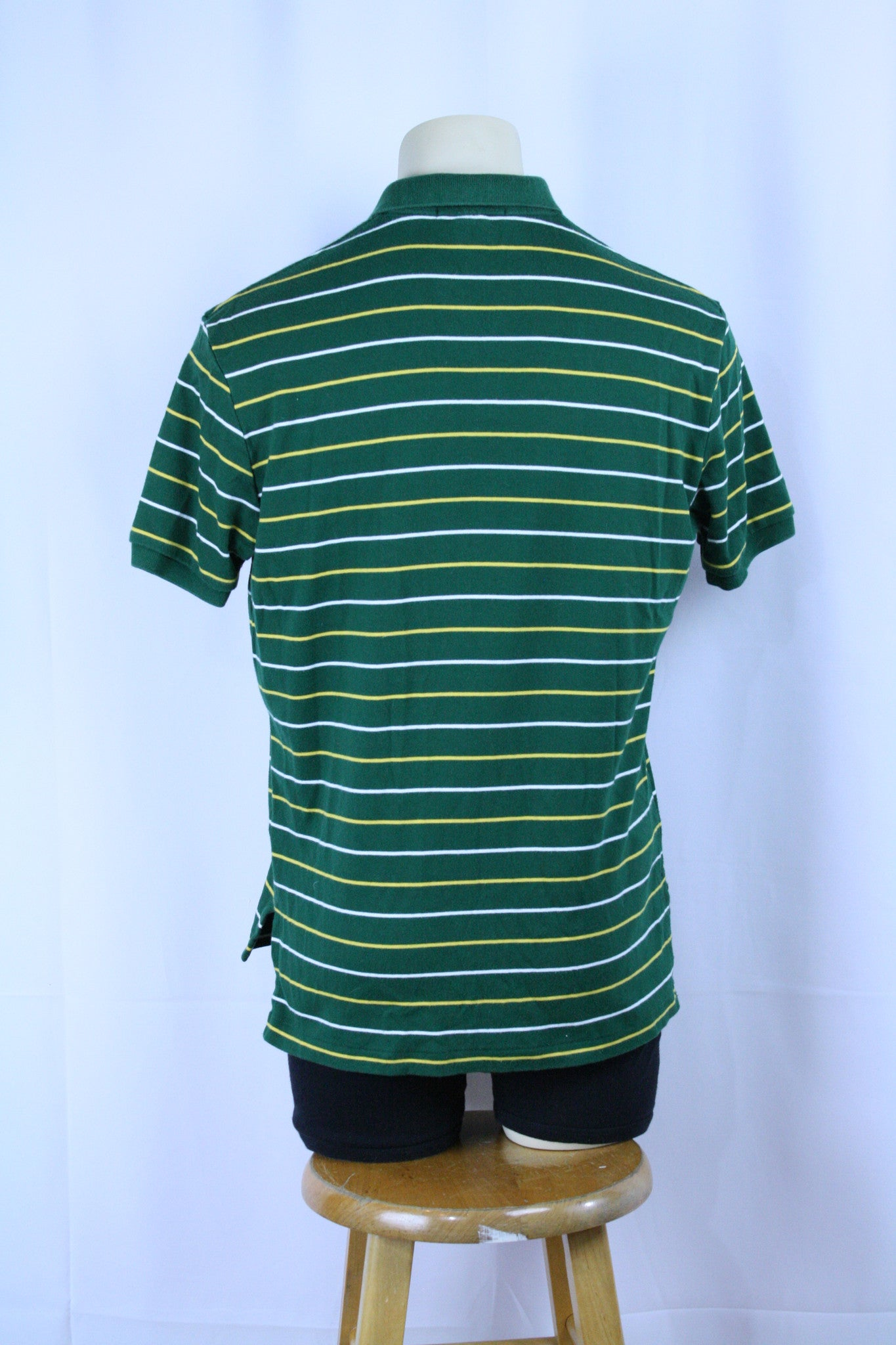 *Early 2000s* Striped Polo Shirt (M)