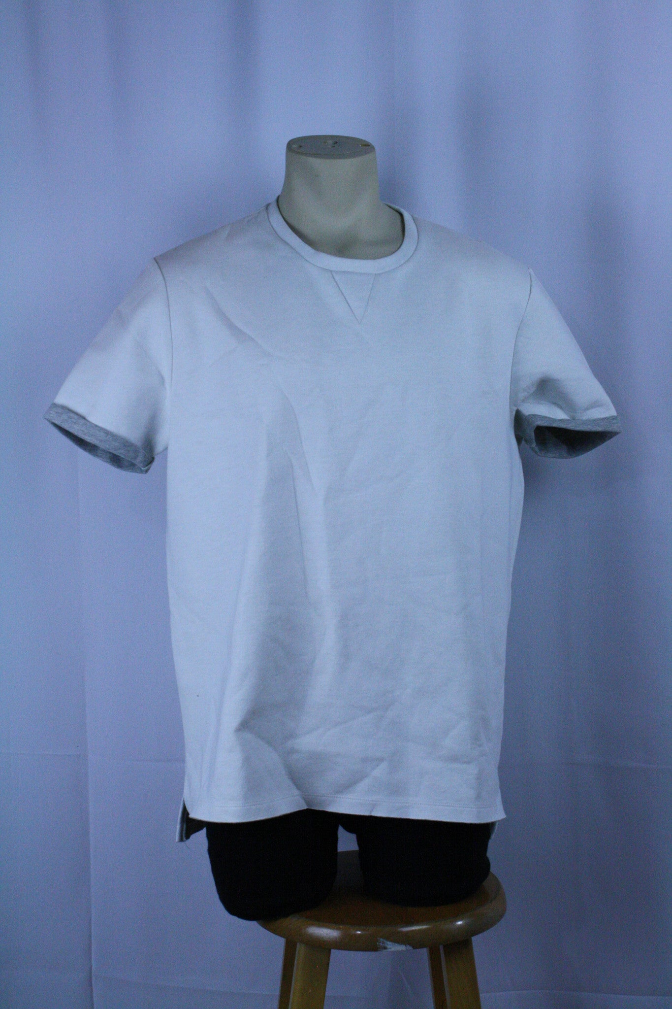 White/Grey Neoprene T-Shirt (XL)