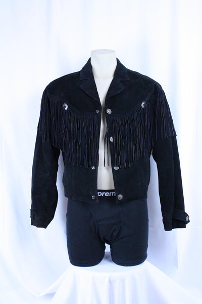 Vintage Cowboy Leather Jacket (M)
