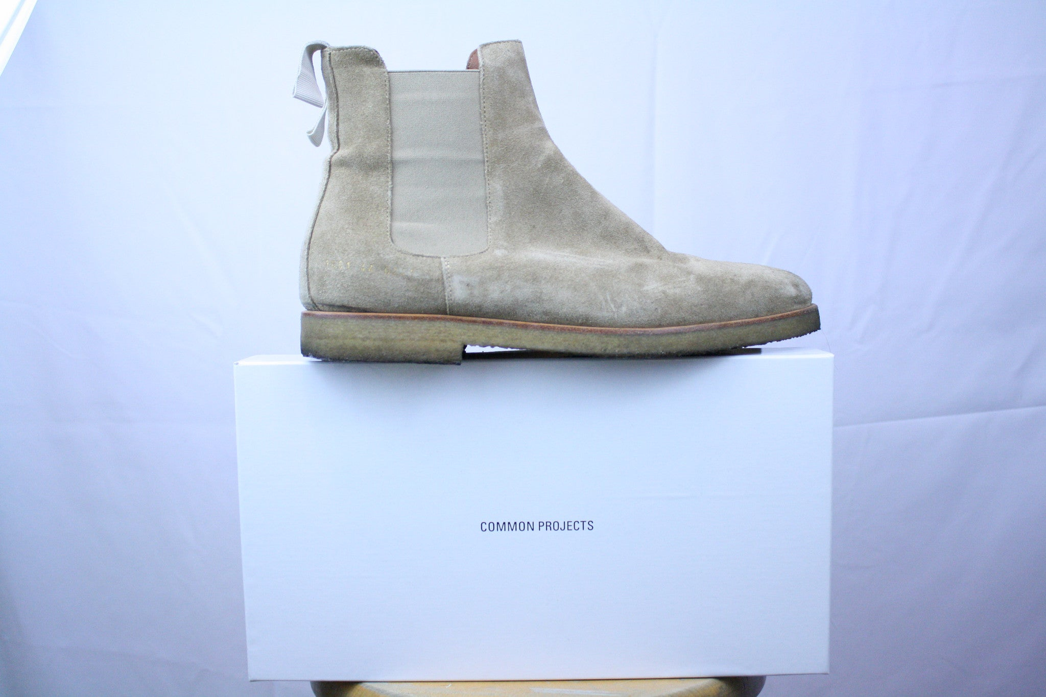 Common Projects Suede Chelsea Boots - 44