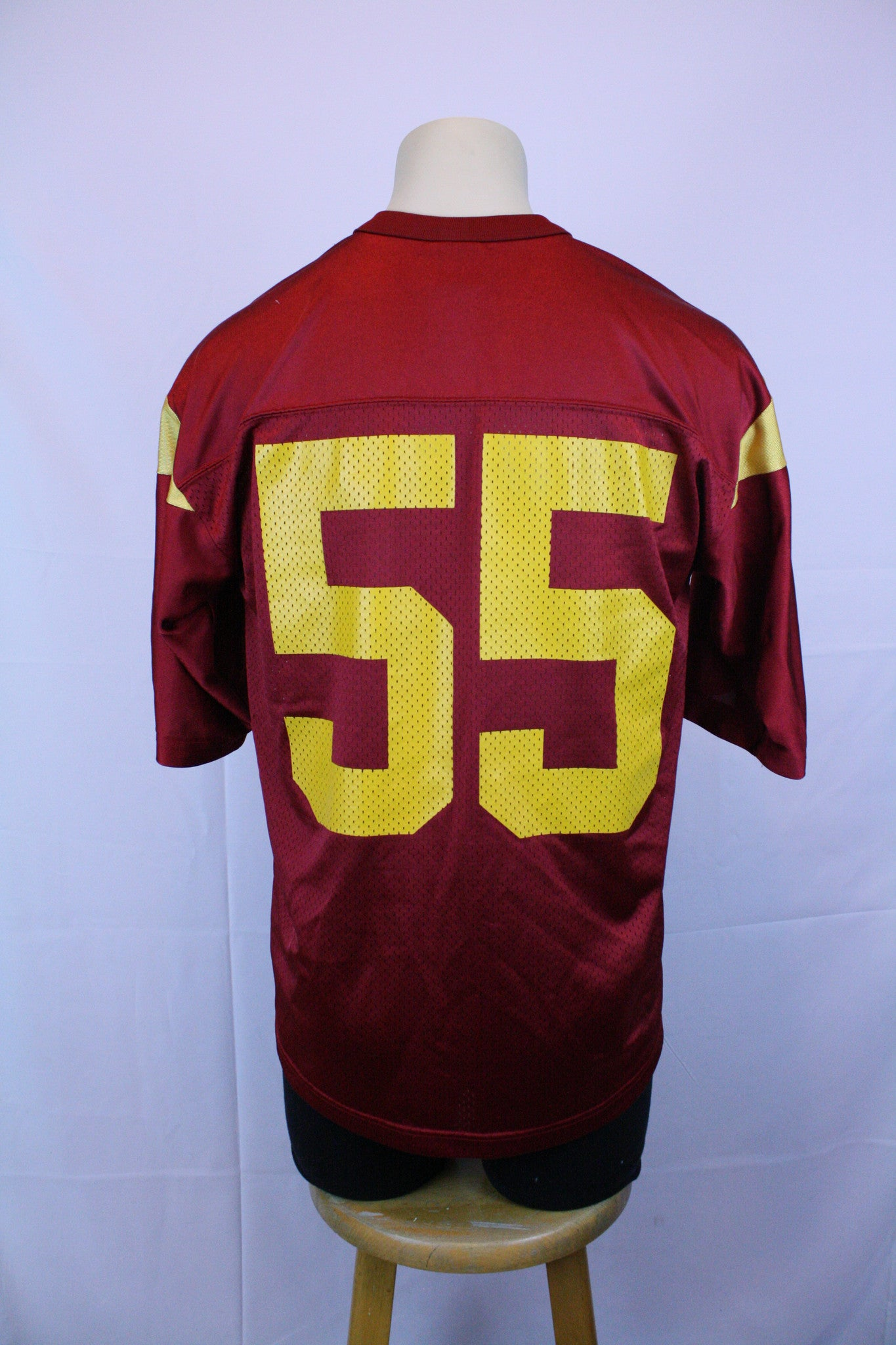 VINTAGE Authentic Junior Seau USC Jersey (M)