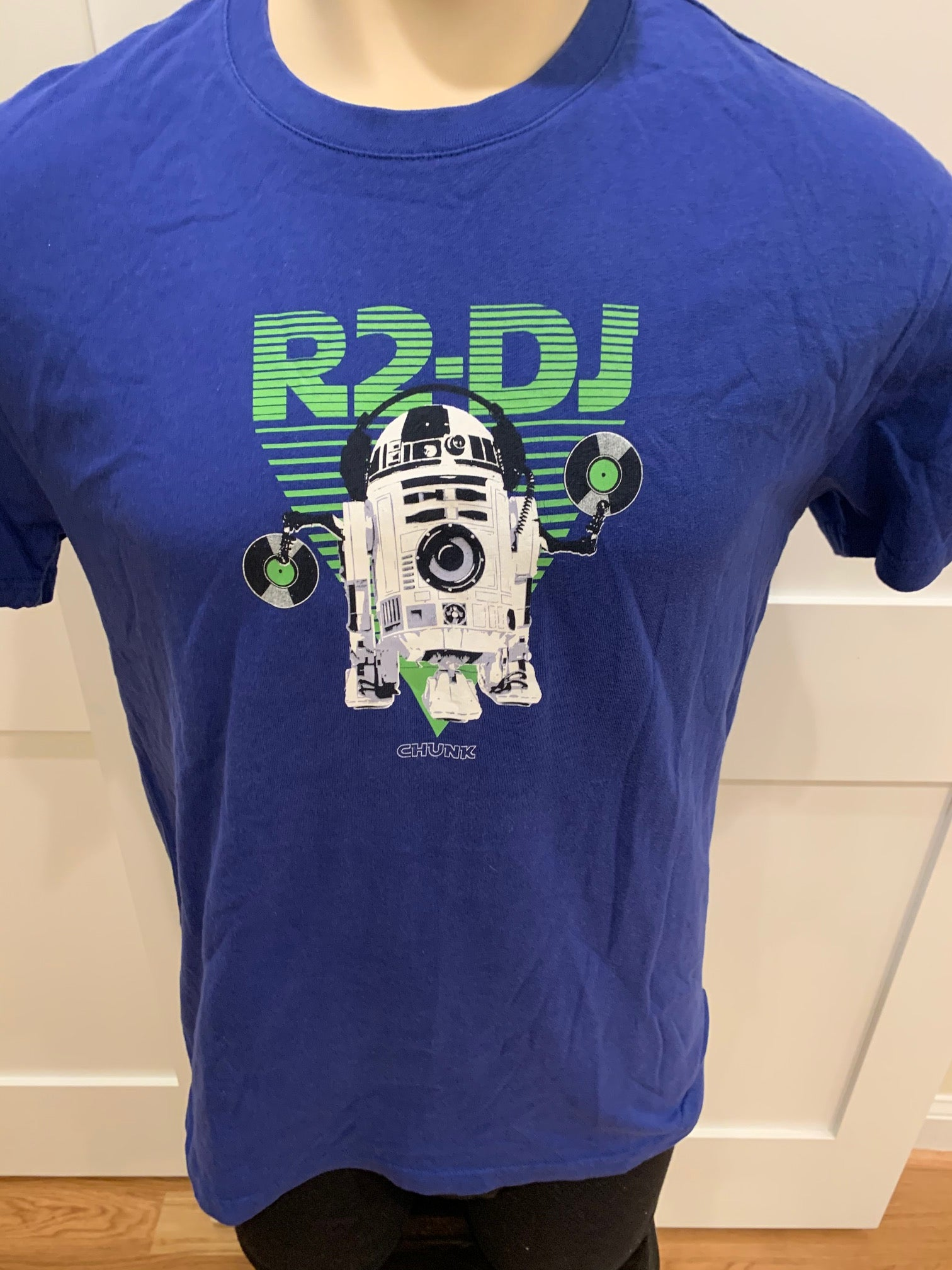 R2 DJ Blue Tee Shirt - Medium