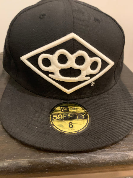 Brass Knuckles Hat - Black  Size 8""