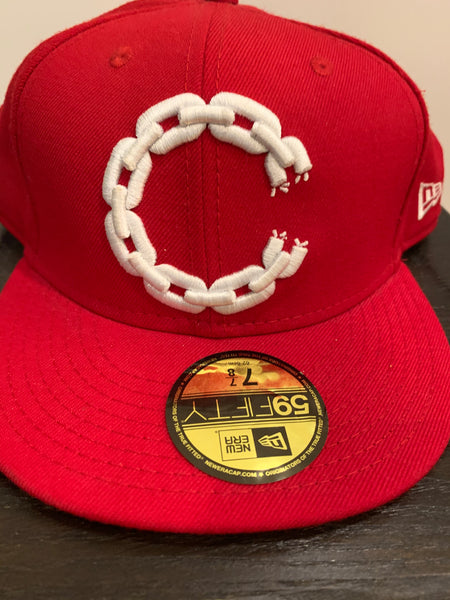 Crooks and Castles Hat - Red  Size 7-7/8""