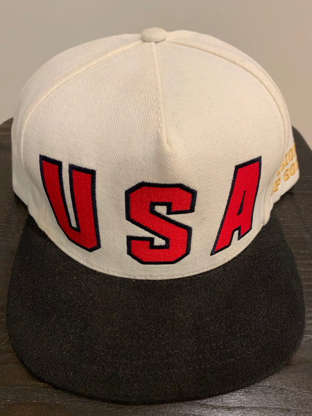 Supreme Visions of Gold USA Snapback