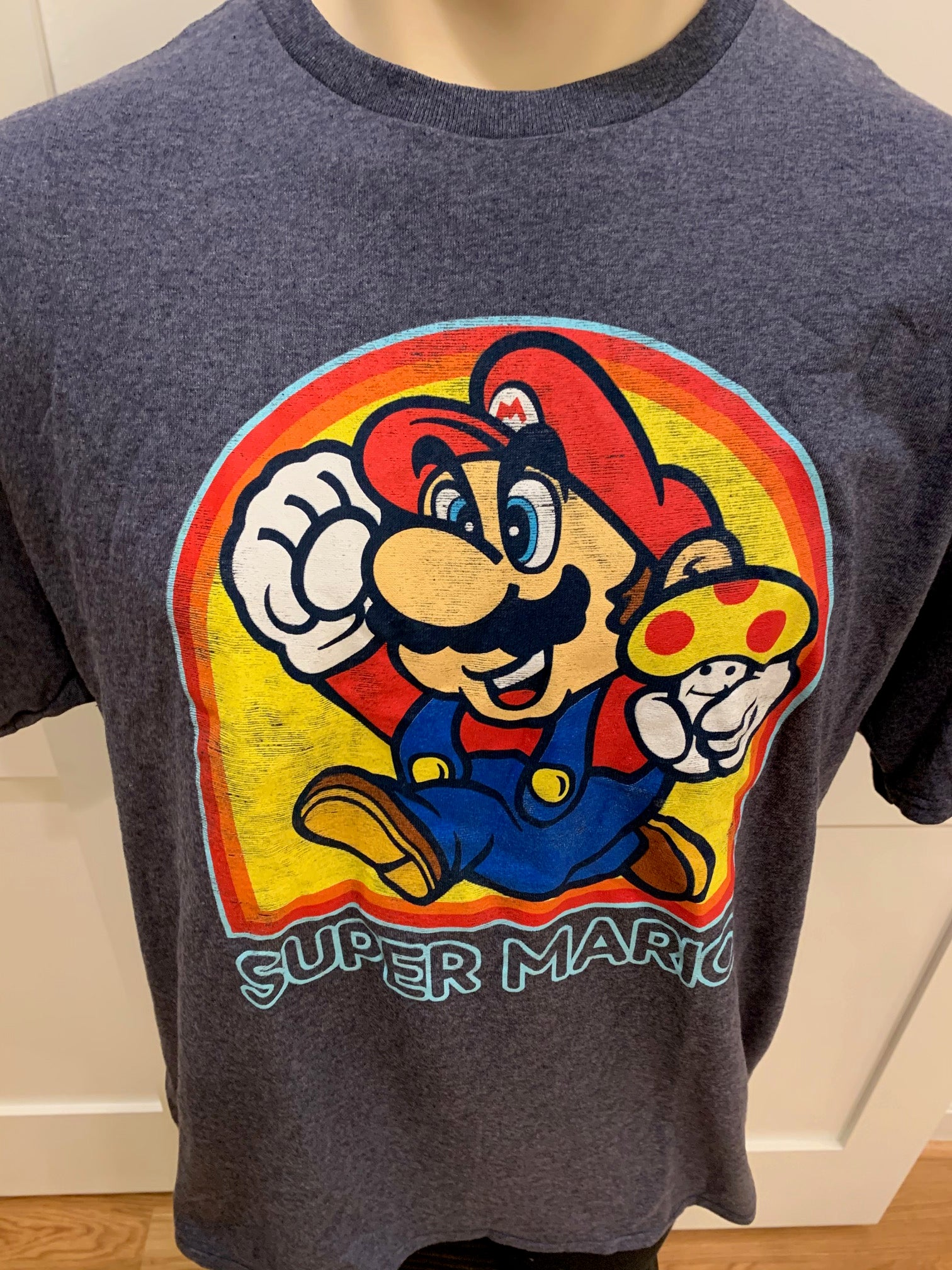 Super Mario Short Sleeve Tee Shirt (XL)