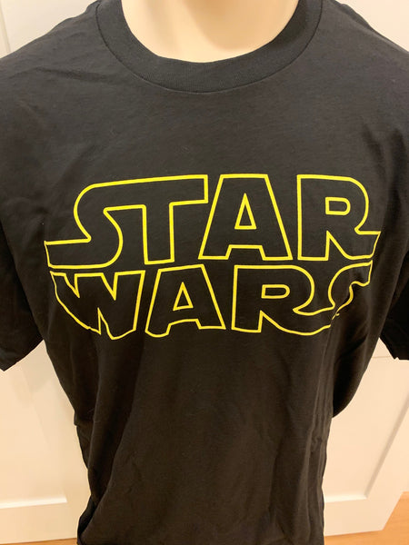 Star Wars Black Short Sleeve Tee