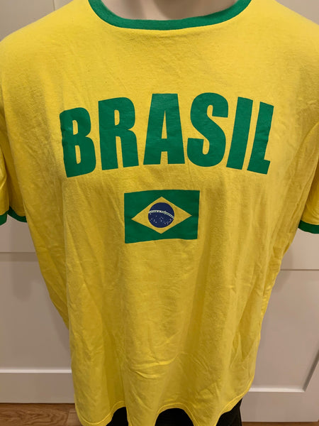 Brasil 2010 FIFA World Cup Tee Shirt - XL