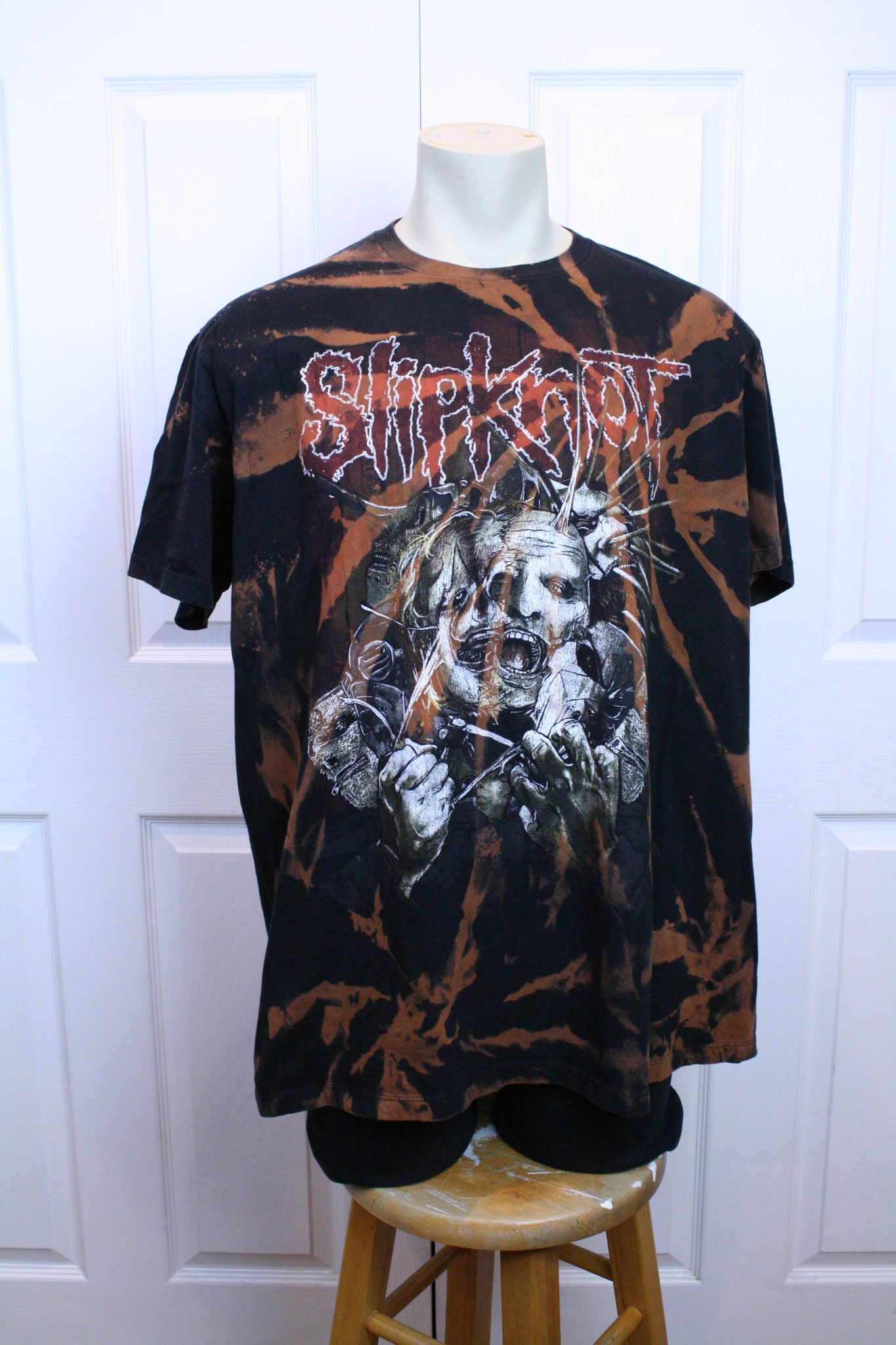"CUSTOM Slipknot ""The Goat"" T-Shirt (XL)"