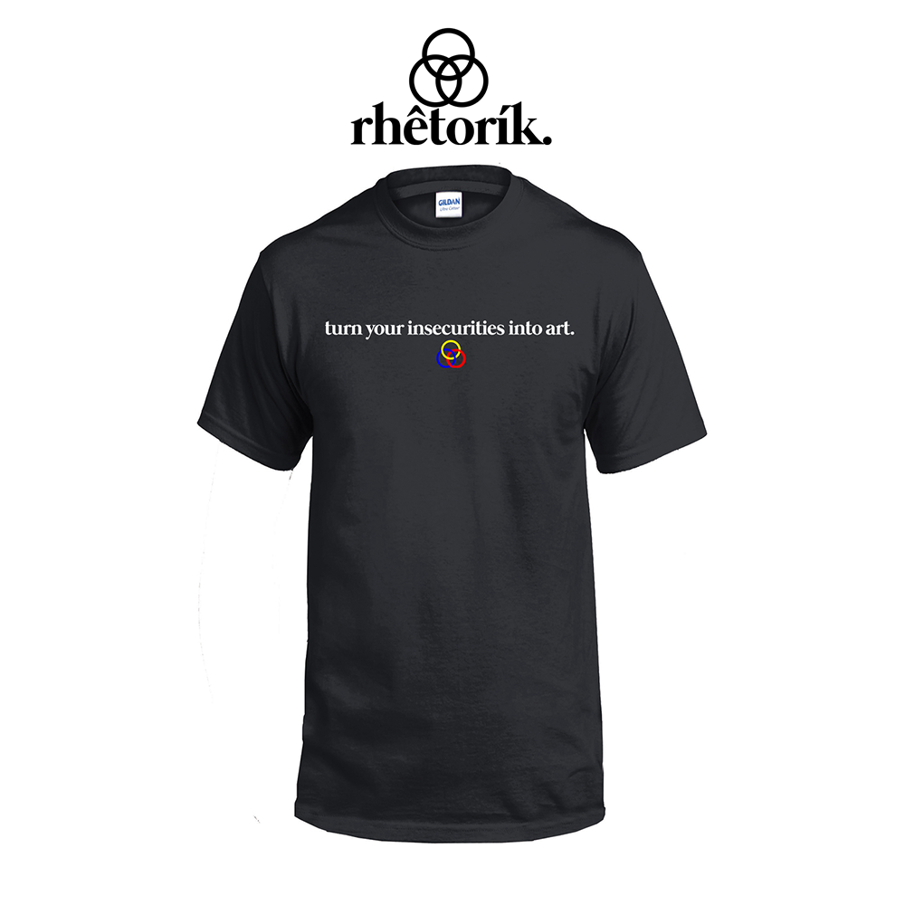 "LIMITED: rhêtorík ""Personal Mantra"" T-Shirt (BLACK)"