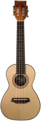 Makai Limited Solid Spruce/European Spalted Maple Concert Ukulele LC-130SM