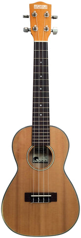 Makai Limited Solid Cedar/Basswood Concert Ukulele LC-70B