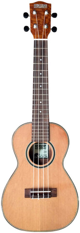 Makai LC-75BE Limited Series Cedar/Big Eye Tree Concert Ukulele