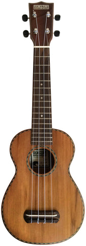 Makai Limited Series Solid Cedar/Willow Soprano Ukulele LK-80W