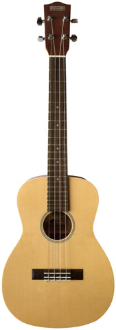 Makai Solid Top Series With White Binding Baritone Ukulele MB-70