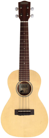 Makai Solid Top Series With White Binding Concert Ukulele MC-70A