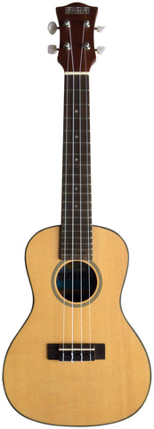 Makai Solid Top Series With Black Binding Concert Ukulele MC-71