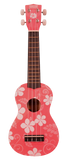 Makai Colored Soprano Ukulele w/ Graphics