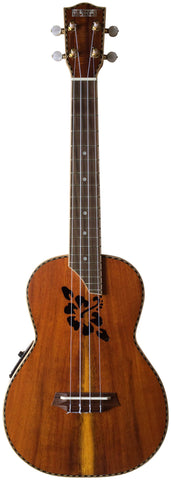 Makai Solid Hawaiian Koa Series With Pickup Tenor Ukulele TKU-26