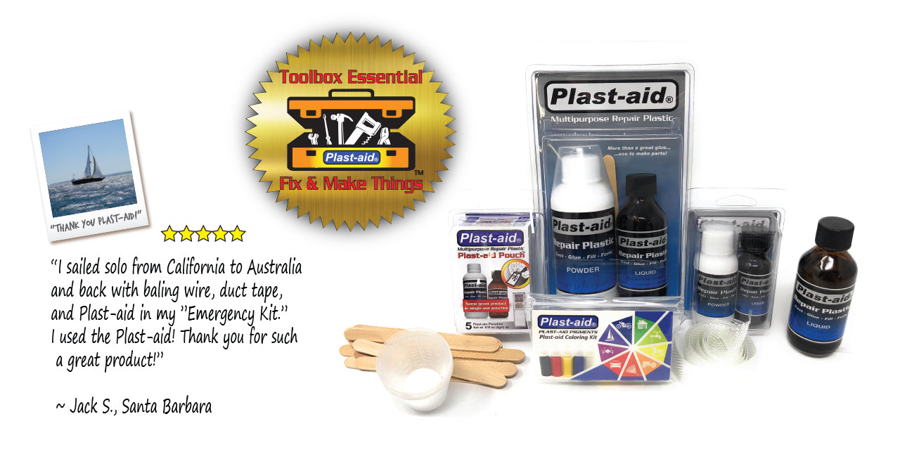 Abs Plastic Repair Kit >> Waterproof Plastic Repair Kits Fixes Cracked Abs Pvc Acrylic Wood More