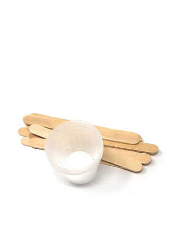 Plast-aid Mix Cups and Sticks