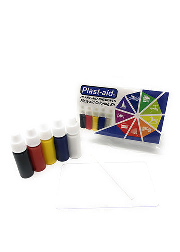 Plast-aid Pigments - Plast-aid Coloring Kit